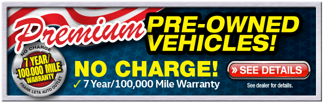 Premium Pre-Owned Vehicles Warranty